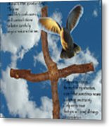 Pentecost Holy Spirit Prayer Metal Print