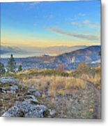 Penticton In The Distance Metal Print
