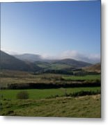 Pentlands With Clouds And Some Sun. Metal Print
