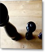 Pepper Mill Topside Metal Print
