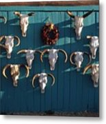 Peppers And Bones Metal Print