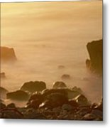 Pepple Beach Metal Print