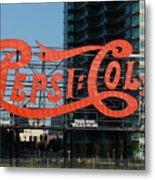 Pepsi-cola Metal Print