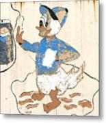 Pepsi Duck Metal Print