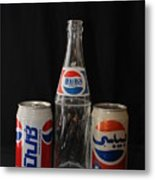 Pepsi From Around The World Metal Print