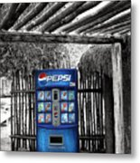 Pepsi Generation Palm Springs Metal Print