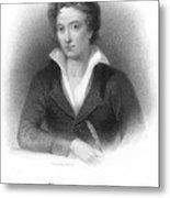 Percy Shelley (1792-1822) Metal Print