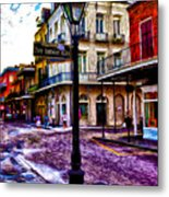 Pere Antoine Alley - New Orleans Metal Print