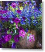 Perennial Flowers Y2 Metal Print