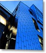 Perfect Blue Buildings Metal Print