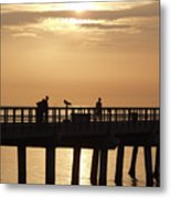 Perfect Day To Fish Metal Print