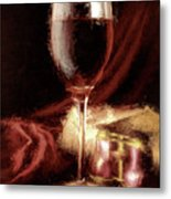 A Perfect Glass Of Wine Metal Print