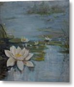 Perfect Lotus - Lmj Metal Print