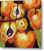 Perfect Pears Metal Print