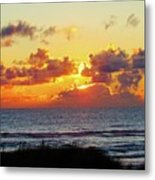 Perfect Sunset Cannon Beach I Metal Print