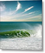 Perfect Wave Metal Print by Carlos Caetano