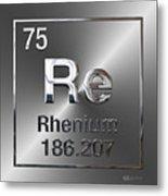 Periodic Table Of Elements - Rhenium Metal Print