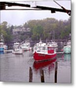 Perkins Cove Metal Print