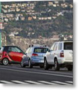 Perpendicular Parking Metal Print