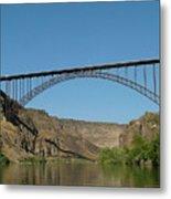 Perrine Bridge Metal Print
