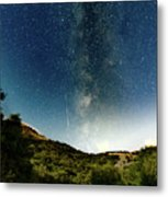Perseids Meteor Shower  Metal Print