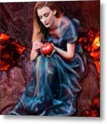 Persephone, Greek Mythological Goddess Metal Print