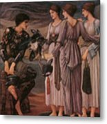 Perseus And The Sea Nymphs Metal Print