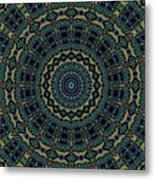 Persian Carpet Metal Print
