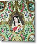 Persian Lady Metal Print