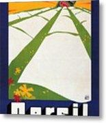 Persil - Statt Sonne - Vintage Advertising Poster For Detergent Metal Print