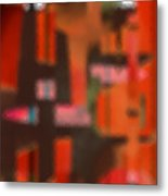 Persona - Obscured Idol Adherence 2015 Metal Print