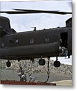 Personnel Attach A Storage Container Metal Print