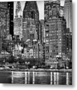 Perspectives V Bw Metal Print by JC Findley