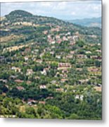 Perugia Countryside Metal Print