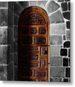 Peruvian Door Decor 13 Metal Print