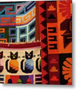 Peruvian Tapestries  Metal Print