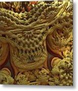 Peruvian Weave Metal Print