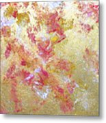 Petal Abstraction Metal Print