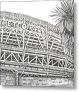 Petco Park Metal Print by Juliana Dube