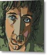 Pete Townshend - Behind Blue Eyes  Metal Print by Suzanne Gee