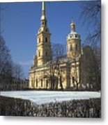 Peter And Paul Cathedral Metal Print