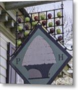 Peter Hay Kitchen Sign Metal Print