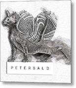 Peterbald Kitten 01 Metal Print