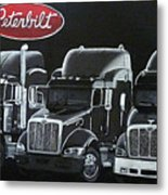 Peterbilt Trucks Metal Print