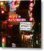Pete's Kitchen Metal Print