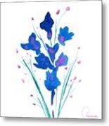 Petit Bouquet Metal Print