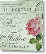 Petit Rose Confection Metal Print