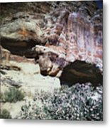 Petra, Transjordan: Cave Metal Print