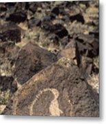 Petroglyph Metal Print