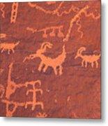 Petroglyphs Metal Print